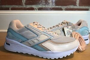 the best attitude 48090 aefd8 Image is loading Brooks-X-Pink-Dolphin-Tsunami-Regent-Cream-Turquoise-