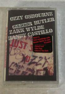 Ozzy-Osbourne-Just-Say-Ozzy-ORIGINAL-1990-US-Cassette-SEALED-w-Sticker