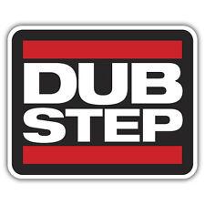 DUB STEP sticker 100 x 80mm vw euro dubtep
