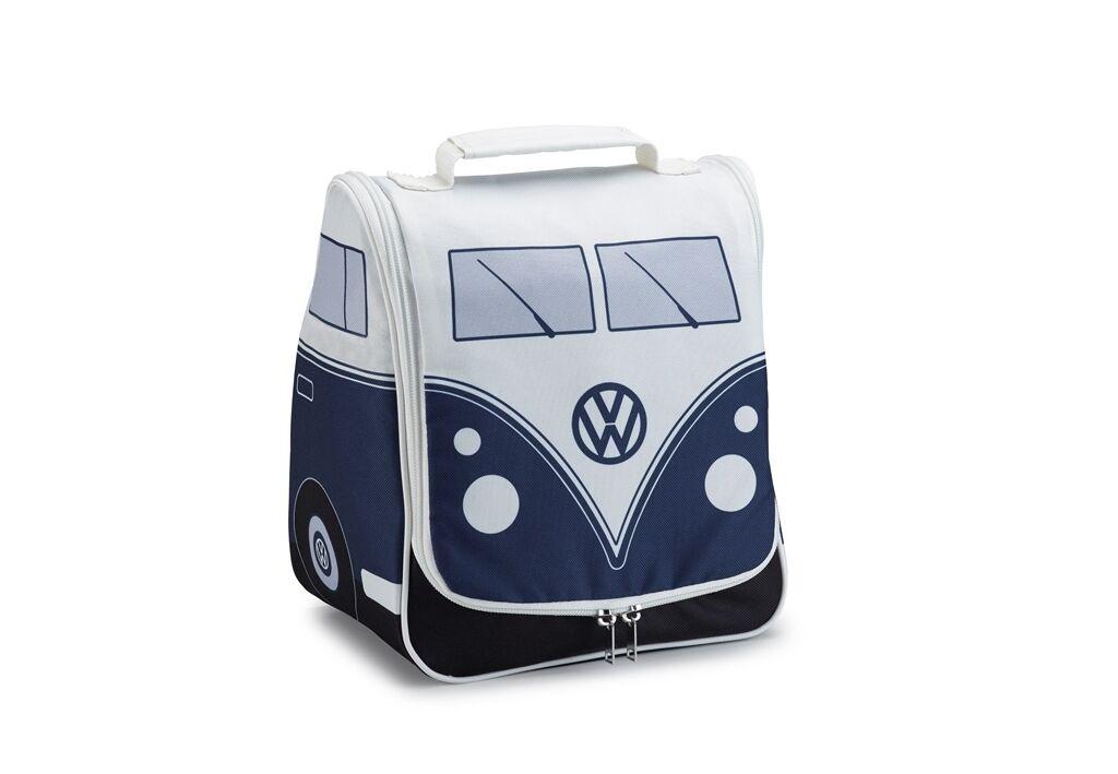 Original VW T1 Trousse de Toilette Toilette Toilette Bleu/Gris, T1 Summer Edition 5DB087317A b6e329