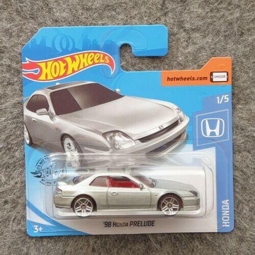 Hot Wheels 98 Honda Prelude Silber OVP Neu 1//5 HW 2020 Modellauto
