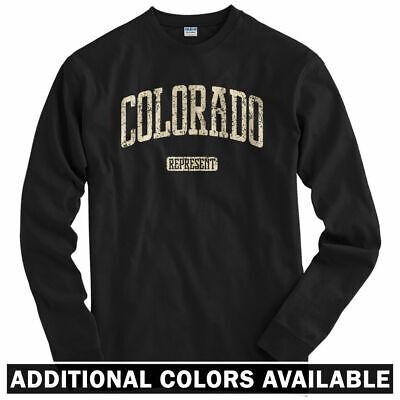Denver 420 Weed Pot LS Colorado Represent Long Sleeve T-shirt Men // Youth
