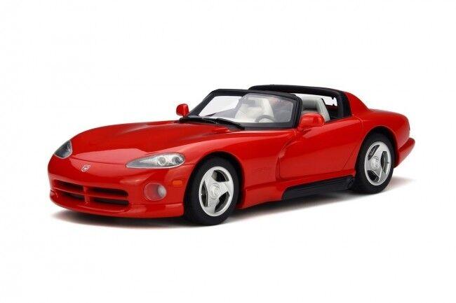 modellllerlerl GT Ande Dodge Viper RT  10 (röd) 1 18 GIFT Herregud