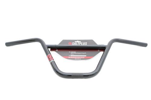 """SEL PLUS BMX HQ GUIDON 8.75/"""" Rise Noir Brillant Largeur 735 mm"""