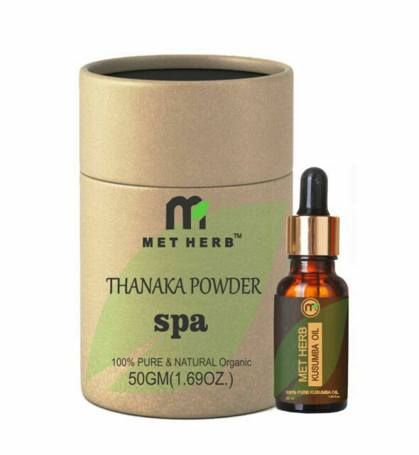 50g Thanaka Powder 50ml Kusumba Kusuma Oil For Hair Removal For Sale Online Ebay