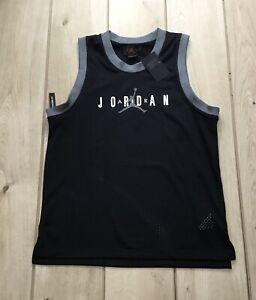 MENS-NIKE-JORDAN-JUMPMAN-DNA-JERSEY-VEST-TOP-SIZE-MEDIUM-CJ6151-010-BLACK