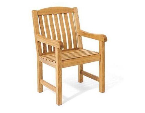 DSDV 3pc Dining Set:GradeA Teak Adirondack Side Table Arm Chairs Outdoor Patio