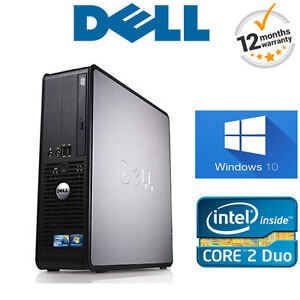 Windows-10-DELL-Optiplex-SFF-ordinateur-PC-DE-BUREAU-INTEL-4-Go-RAM-250-Go-HDD