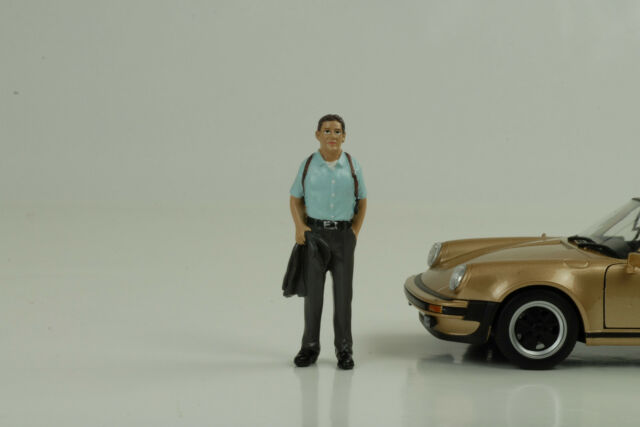 Detective II Policía COP Figura Figurines 1:24 American Diorama