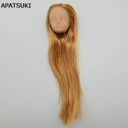 """4 Styles Plastic Practice Makeup Doll Head For 11.5"""" Doll Heads For 1//6 BJD Toy"""