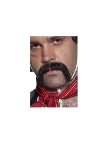 Authentique Western Collection Mexicains-Moustache Noir auto-adhésif