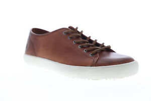 Frye-Brett-Low-80449-Mens-Brown-Leather-Low-Top-Lace-Up-Lifestyle-Sneakers-Shoes