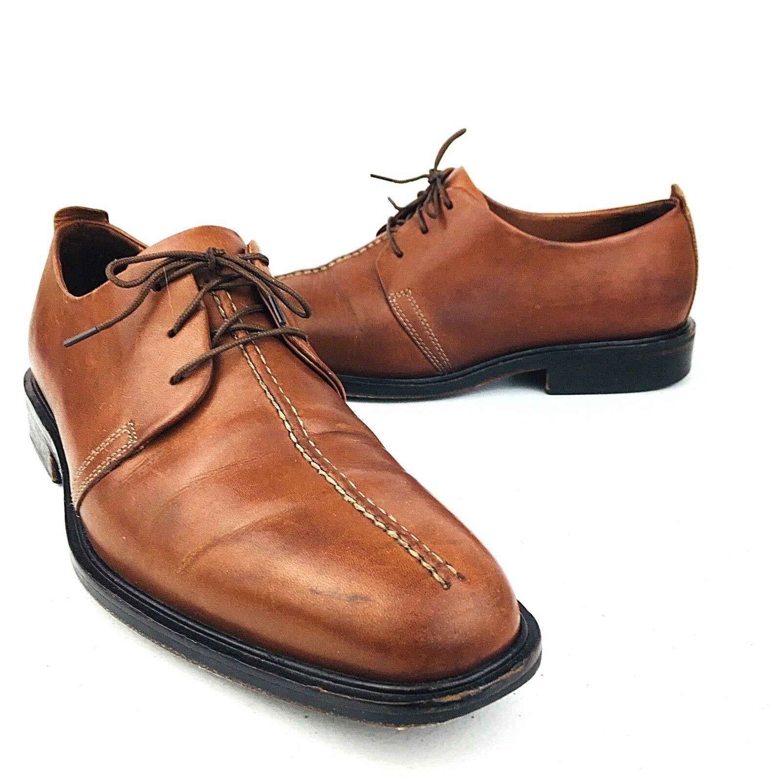 Cole Haan Uomo Air Lace Up Casual Shoes Brown 4817304 Santa Barbara Size 9