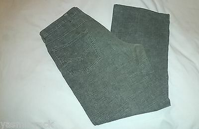 MENS RIVER ISLAND STRAIGHT LEG JEANS SIZE W36 L32 - LIGHT BROWN - EXCELLENT COND