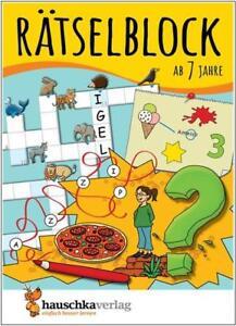 NEU-Raetselblock-fuer-Kinder-ab-7-Jahren-kunterbunter-Raetselspass-mit-Loesungen