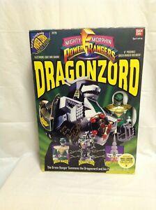 Power Rangers Dragonzord - Nouveau / scellé (1993 2270) dédicacé par Tommy 45557022709