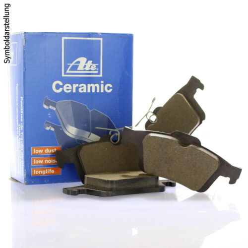 4x unités antithrombine Disques De Frein ARRIÈRE OPEL ASTRA G H Meriva UAT Ceramic GARNITURES AVANT
