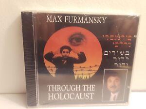 Max-Furmansky-Through-the-Holocaust-CD-Brand-New-Sealed