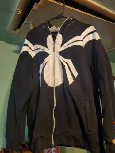 Symbiote Spiderman 2XL Hoodie