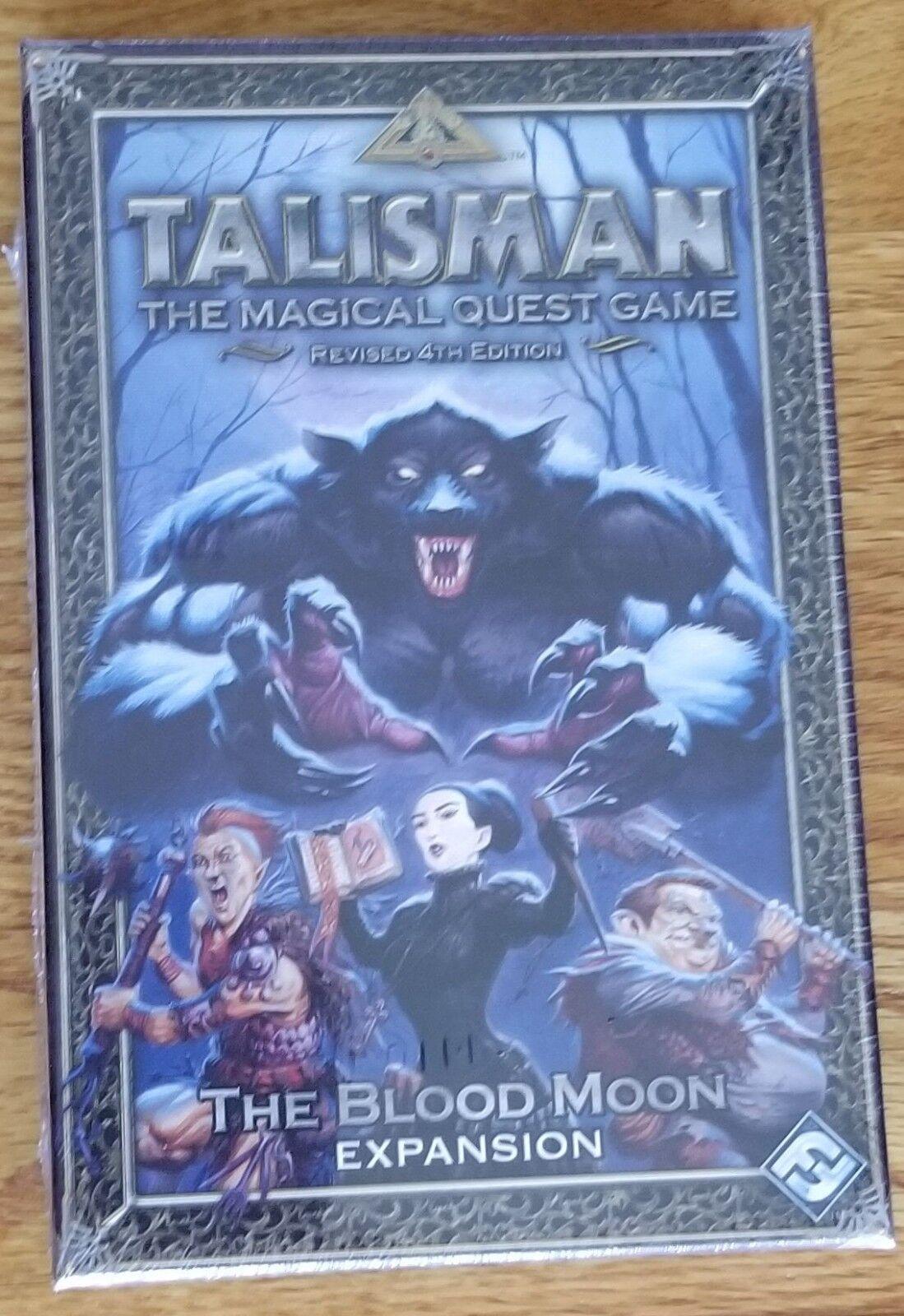 Talisman The Blood Moon Expansion  Fantasy Flight new