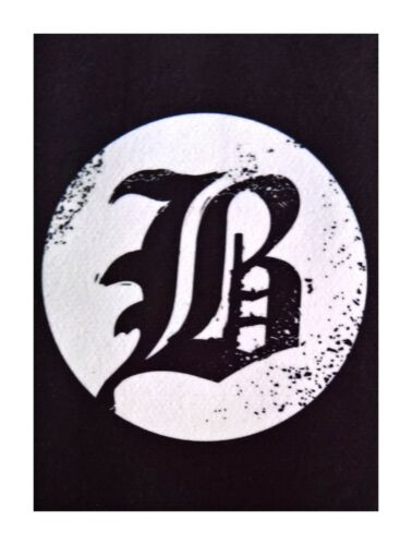 Beartooth patch DIY printed textile patches rock metal metalcore hardcore punk