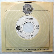 Lilith O'Leary PROMO exotica popcorn amaret 45 Gone Away 8 Miles To Tijuana DME