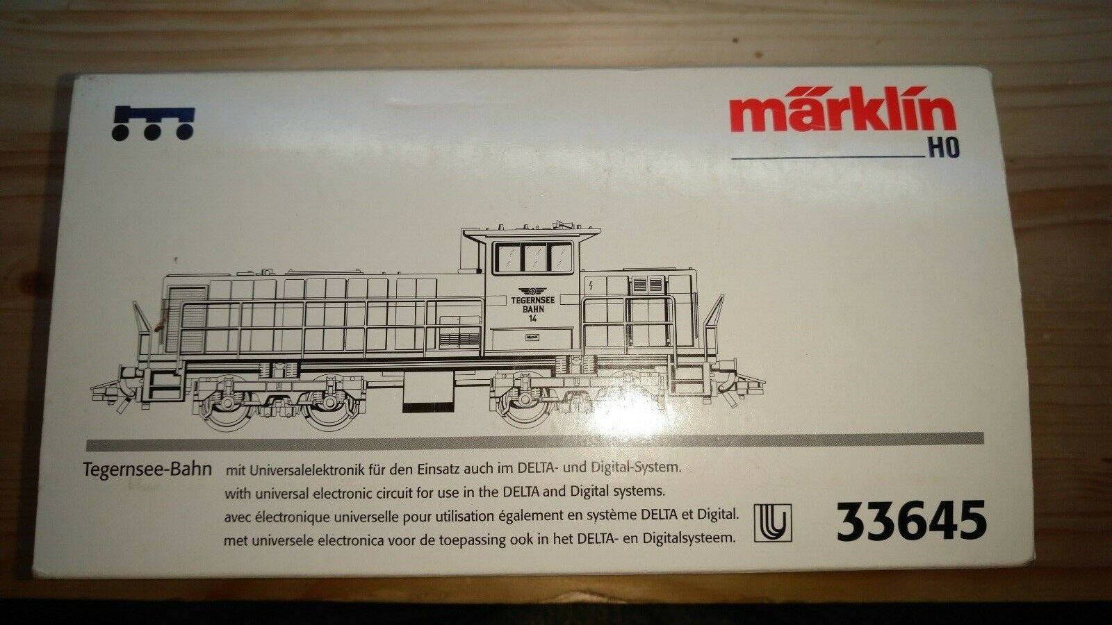 MÄRKLIN 33645 Mak Diesel G1204 Tegernsee-Bahn #14 Ep IV ++ Limited Serie