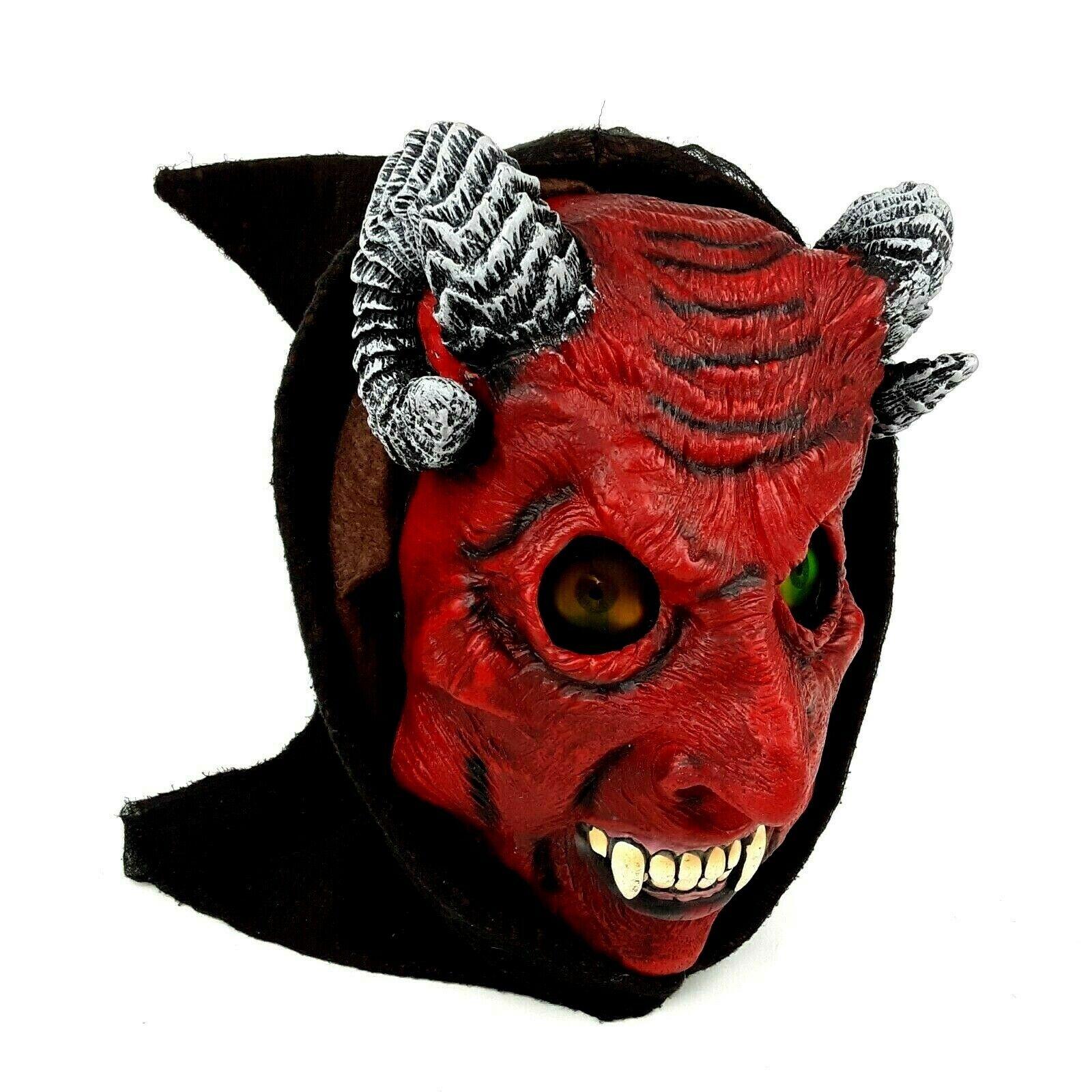 Devil Womens Adult Red Evil Demon Lucifer Halloween Costume-M