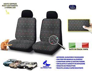 Coprisedili Panda 750 1000 4x4 Fiat Copri sedile 1986>2003 fodere auto su misura
