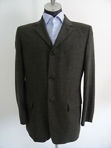 Hugo-Boss-Red-Label-Agosto-Hektar-Herren-Tweed-Sakko-Jackett-Jacke-Gr-50-Braun