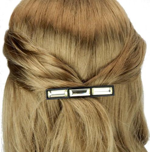 Ella Jonte Haarspange schwarz gelb Barrette Style Haarschmuck Frisuren Trend