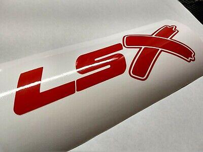 LSX SS Vinyl Decal Sticker Car Pontiac Chevy Corvette GTO G8 Flag Emblem