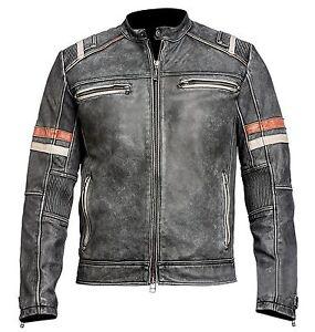 3b1d23d5892 La foto se está cargando Hombre-Vintage-MOTO-Cafe-Racer-Motero-Retro-MOTO-