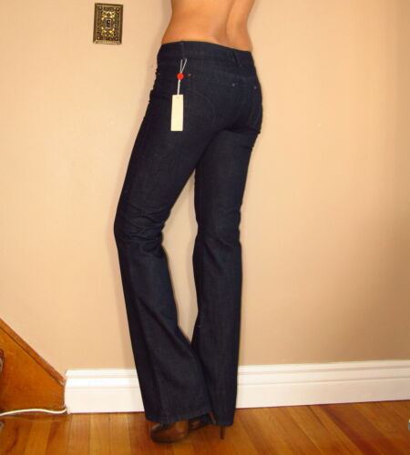 Joe/'s Jeans Muse Mid-Rise Bootcut Sophisticated Elegant Fit Dark Stretch 24 New