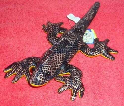 "SAND FILLED PETS ANIMALS 9/"" METALLIC IGUANA LIZARD"