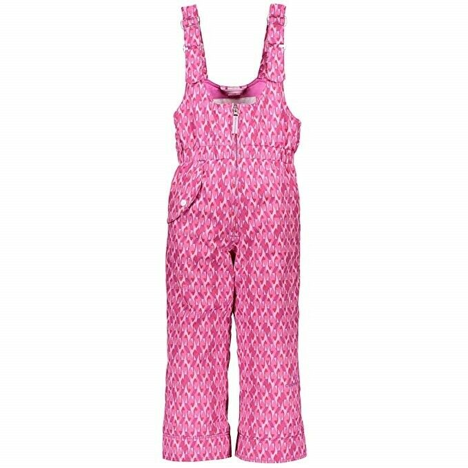 Obermeyer Sno ll Print Snow Pant - Toddler Girls - 5, Pink & Pinker