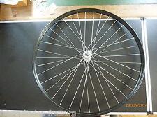 1x neues vorderrad mit schwarzer 26x1x1/2 oder 37-584mm alu felge, gold liniert