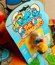 blister Schtroumpf clown articule  puffo pitufo puffi smurf  toy island neuf