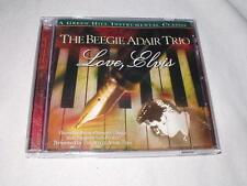 BEEGIE ADAIR Love, Elvis (2000) CD Jazz Piano Trio Presley Green Hill