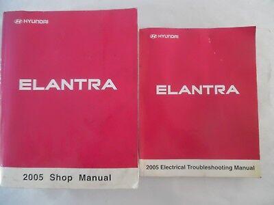 2005 HYUNDAI ELANTRA SERVICE REPAIR MANUAL INCLUDES WIRING DIAGRAM MANUAL |  eBayeBay