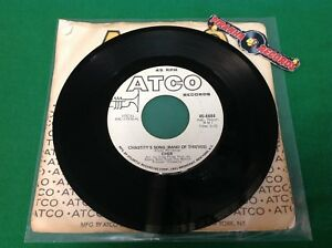 Cher-Chastity-039-s-Song-Band-of-Thieves-Promo-Mono-45-Single-Piranha-Records