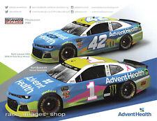 2007 Kickbutt Amped Energy Ballz Ford Fusion Race Car NASCAR Busch postcard