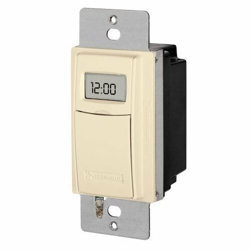 7 Day Programmable Digital Timer Switch for Lights and Appliances