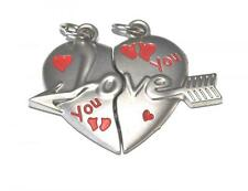 MAGNETIC FREINDSHIP HEART BEST FRIENDS HEART PENDANT / CHARM / GIFT / CHARMS
