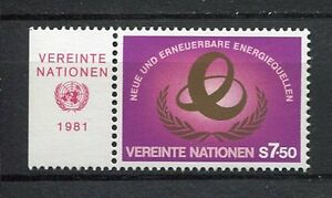 19320A-UNITED-NATIONS-Vienna-1981-MNH-Energy-label