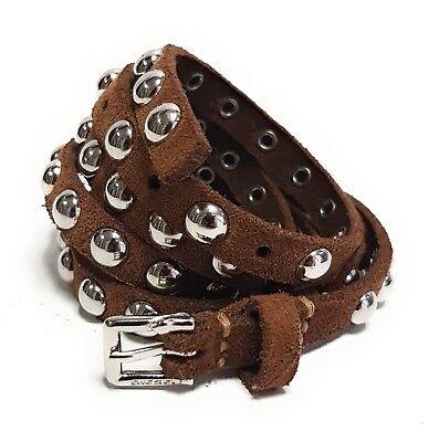 Diesel Pelle Cintura Designer Benzil Leather Belt Cintura Cinghia 80cm 00 Shtq #54-mostra Il Titolo Originale Ricco E Magnifico