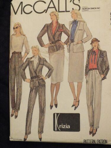 8-14 VTG 70-80s McCALLS Patterns DESIGNER Dresses~Pants~Shorts~Tops~Skirts MORE