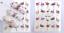 Adesivi-Unghie-Decalcomanie-Nail-Art-WATER-Decals-Stickers-Lavande-Fiori-Farfall miniatuur 13