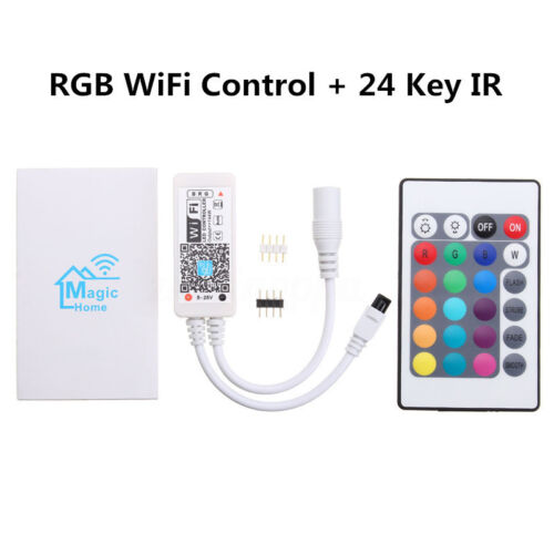 WiFi RGB RGBW LED Streifen Controller 144W IOS Android  Magic Home app Echo Alex