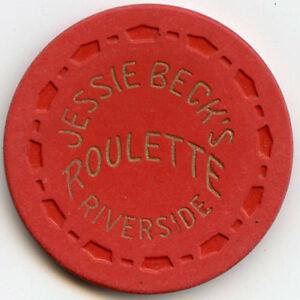 Jessie Becks Riverside Casino Vintage Reno Nevada Used